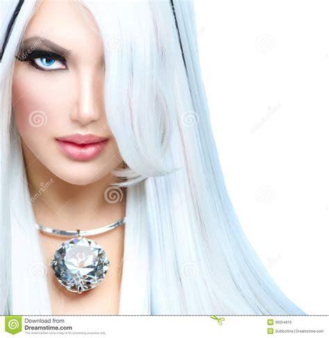 beauty fashion girl stock image image of face black