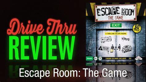 escape the room reviews escape room the review drive thru review