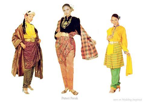 Baju Zaman Kesultanan Melayu Melaka asam garam 2 puteri perak sejarah negeri perak part ii