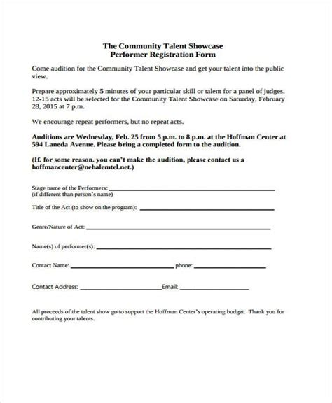 audition form musical audition form theatre rocklaf