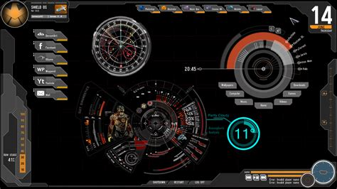 themes clock com avengers rainmeter skin by jamezzz92 on deviantart
