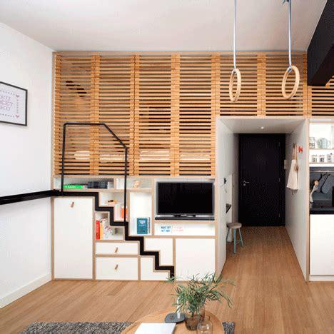Meuble Gain De Place Cuisine 976 by Studio Un Am 233 Nagement Moderne Et Bien Pens 233 Studios