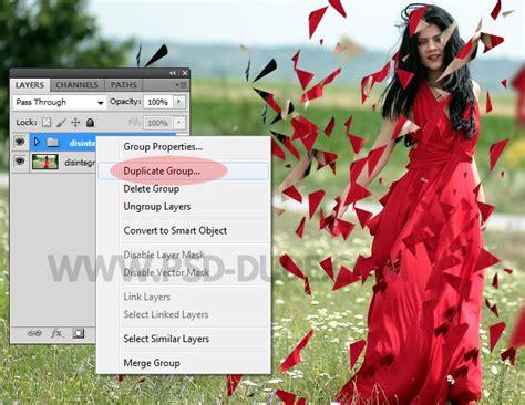 tutorial photoshop dispersion effect indonesia create dispersion disintegration effect in photoshop