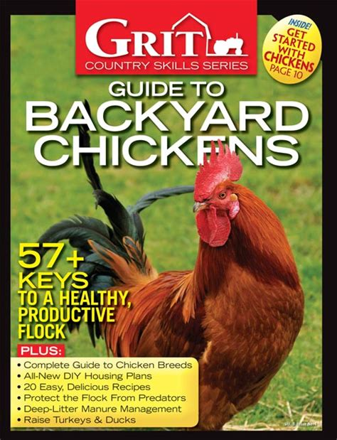 Backyard Chickens Grit 2014 Grit Guide To Backyard Chickens