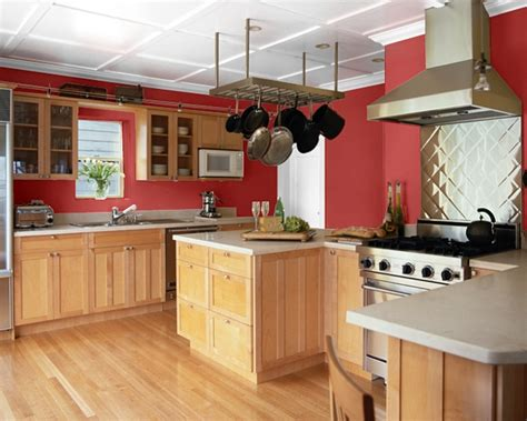 kitchen colours making your home sing red paint colors for a kitchen