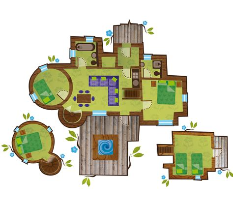 Treehouse Floor Plans by Luxury Treehouses Towerstimes