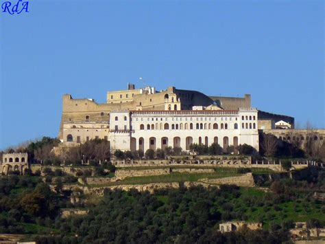 castel di porto la certosa di san martino e castel sant elmo ripresa dal