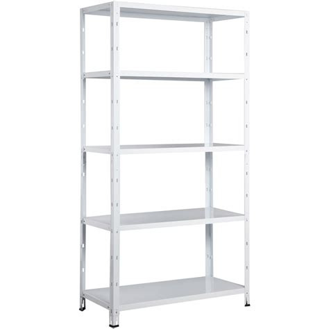etagere metal etag 232 re m 233 tal clicker 233 poxy 5 tablettes l 90 x h 173 x p
