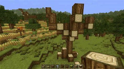 minecraft tree tutorial minecraft dead tree tutorial