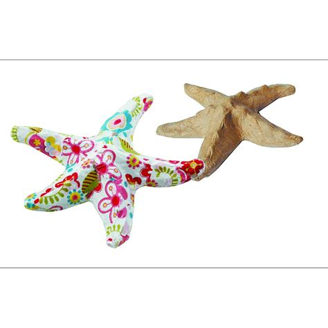 How To Make Starfish With Paper - paper mache small starfish ap622 paper mache