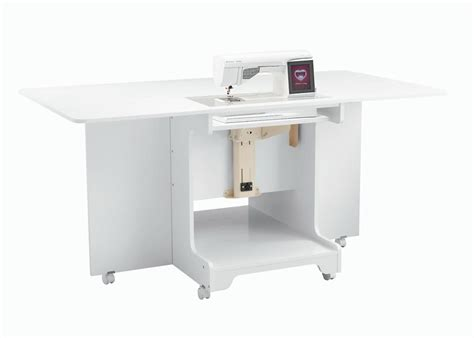 Sewing Table by Inspira Combo Sewing Cutting Table White