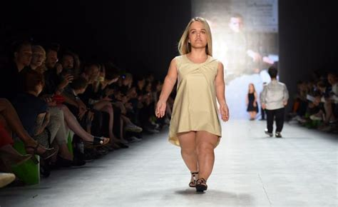 Top Model Sightings At Fashion Week by Berlin Fashion Week Models Show Small Is Beautiful