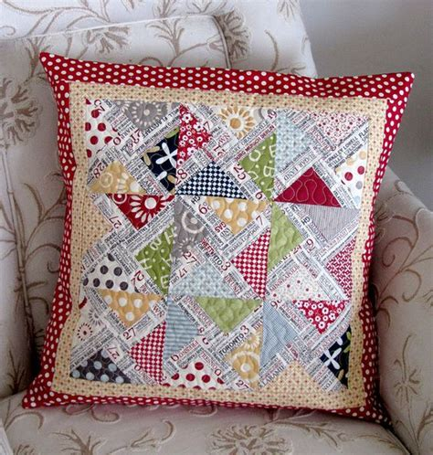 Patchwork Cushions Patterns - pretty cushion cushions patchwork