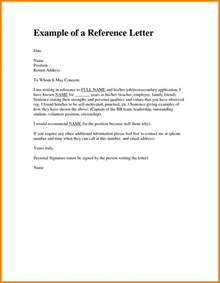 Character Reference Letter Exles by 6 Character Reference Letter For A Friend Sle Resume Reference
