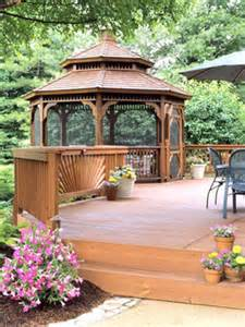 Gazebo On Deck Picture by Deck Designs Pictures And Ideas