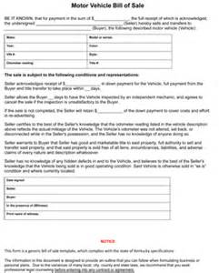 kentucky new car sales tax kentucky auto bill of sale form 8ws templates forms