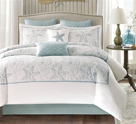 beach comforter set queen maya bay seashell comforter set