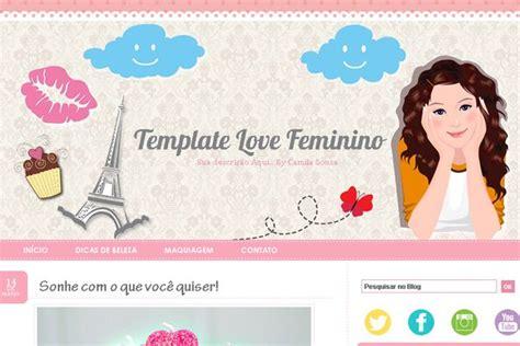 templates para blogger de moda camila sousa dicas de beleza e moda template free