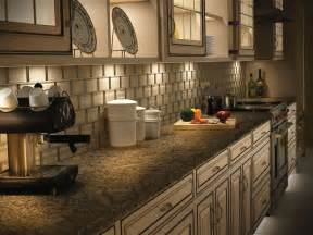 Trends In Kitchen Backsplashes by Led Under Cabinet Lighting Home Interior Design