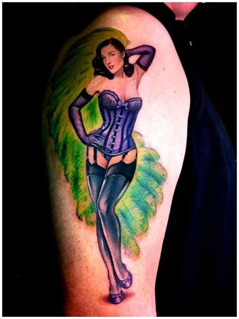 pinup with tattoo photo top 65 pin up girl tattoo sexy designs