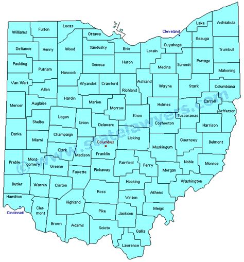 map of ohio counties 22 awesome ohio county map with cities afputra