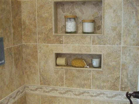 Ceramic Tile Shower Shelf by 60 Fascinating Shower Shelves For Better Storage Settings