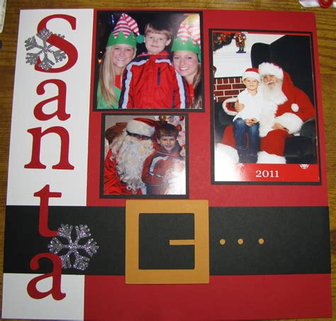 scrapbook layout christmas stacy s stin spot january stin meeting christmas
