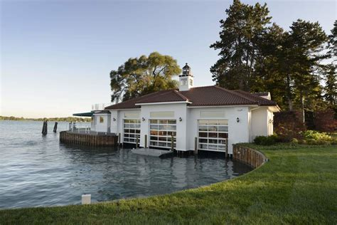 river boat house south channel homes boat house st clair river