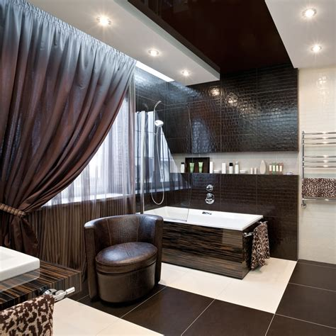 Modern Bathroom Brown Tiles 57 Luxury Custom Bathroom Designs Tile Ideas Designing