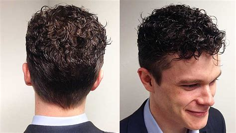 mens perm short hairstyles perms for men at denny hairdressing manchester