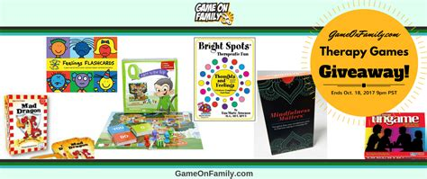 Physical Therapy Giveaways - therapy games giveaway win 6 games game on family