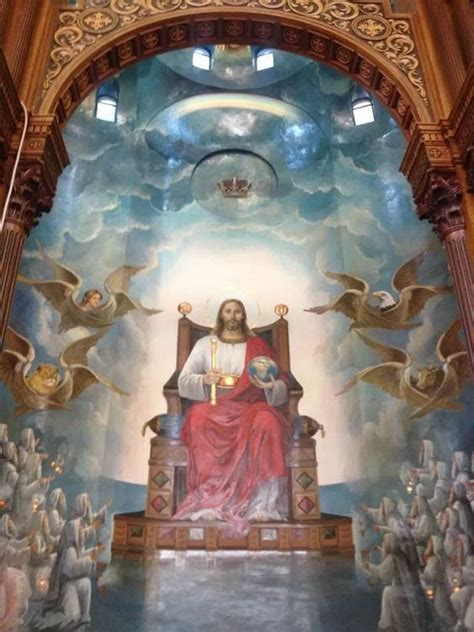 room for jesus king of lord jesus sitting at his most holy throne in the kingdom of heaven revelation of