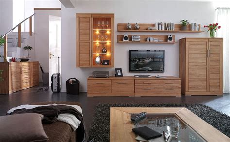 wohnzimmer echtholz wohnzimmer massivholz komplett massivholz m 246 bel in