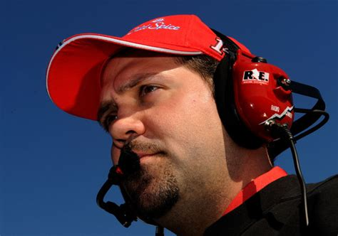 tony stewart subdued in victory after kyle busch s