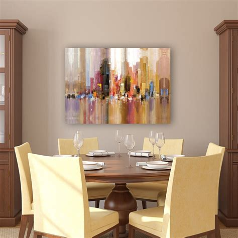15 inspirations of modern wall art for dining room
