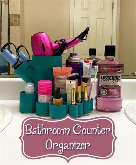 diy bathroom counter organizer diy bathroom counter caddy