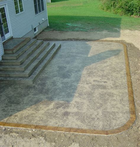 concrete patio steps sted concrete patio stairs yelp