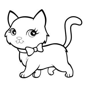 imagenes para colorear gato dibujos de gatos para colorear gatitos pinterest