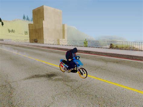 game drag race bike mod thailand gta san andreas mio drag blue thailand mod gtainside com