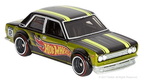Hotwheel Datsun minicars how to get your exclusive mail in wheels