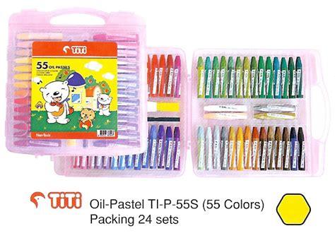 Crayon Titi 48 Colours Murah jual alat tulis kantor murah surabaya 187 titi isi 55