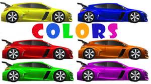 race car colors learn colors racing cars educational for