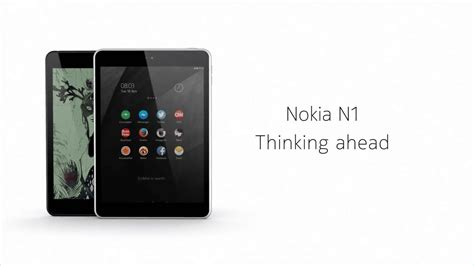 Tablet Android Nokia nokia releases 7 9 inch android tablet quot nokia n1 quot with usb type c that can be connected on both