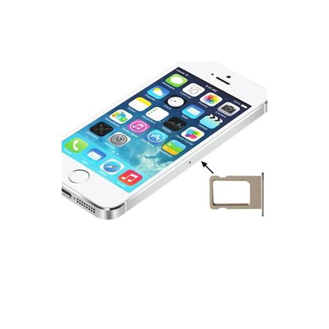 porta iphone 5s porta sim scheda iphone 5s golden slot slitta carrello