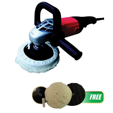 Kit Auto Soft Start Bgr atd tools 7 quot shop polisher with soft start with free pad kit