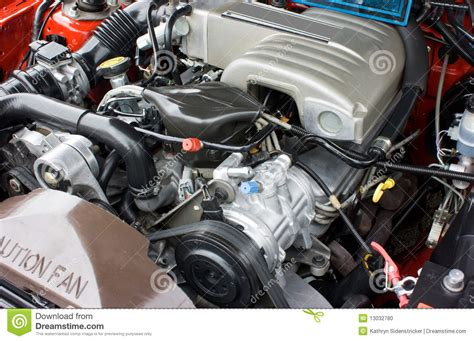 1993 mustang 5 0 horsepower 1993 ford mustang 5 0 v8 engine stock photo image of