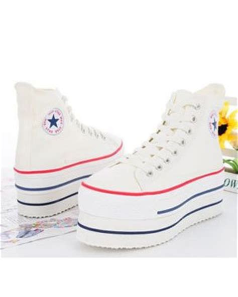 converse platform sneakers who wear use or
