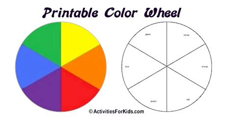search results for colorwheel template worksheet calendar 2015