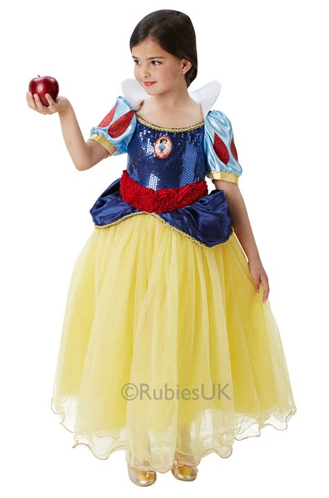 Dress Disney Premium disney premium snow white fancy dress costume