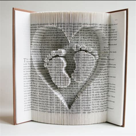book folding templates book folding pattern cuts baby in free